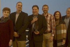 Photo: Innovation Award Winner: Siemens Healthineers LD with ORC HSE Partners: Dee Woodhull, Scott Madar, Paul D. Moss (Siemens Healthineers LD), Jay Kroc (Siemens Healthineers LD), Linda Haney, and Steve Newell